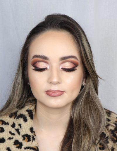 Model Amber with Rita's Makeup Artistry